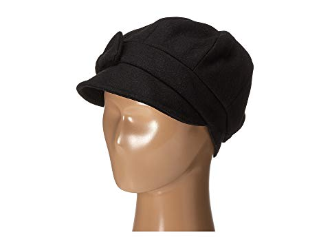 【海外限定】キャップ 帽子 レディース帽子 ブランド雑貨 【 SDH3404 WOOL CAP WITH SELF FABRIC BOW 】