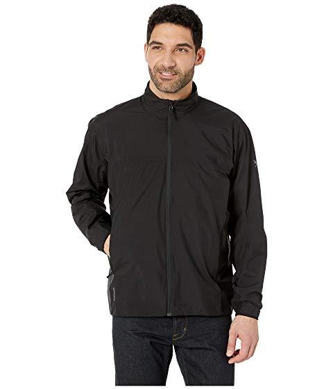 アークテリクス ARC'TERYX 黒 ブラック ARC'TERYX 【 BLACK SOLANO JACKET 】 メンズファッション コート ジャケット
