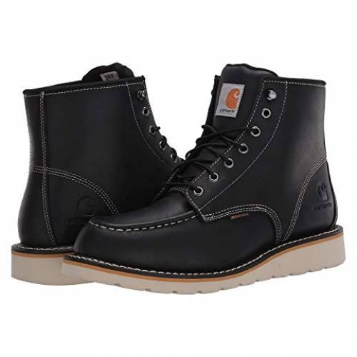 【★スーパーセール中★ 6/11深夜2時迄】カーハート CARHARTT ブーツ メンズ 【 6-inch Non-safety Toe Wedge Boot 】 Black Oil Tanned