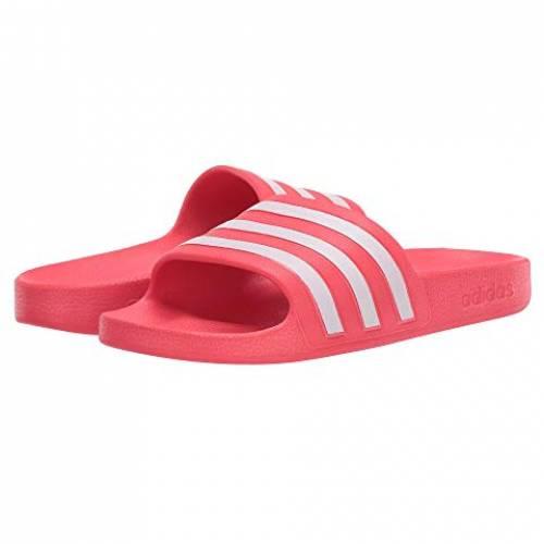 アディダス ADIDAS アディレッタ アクア スニーカー レディース 【 Adilette Aqua 】 Shock Red/footwear White/shock Red