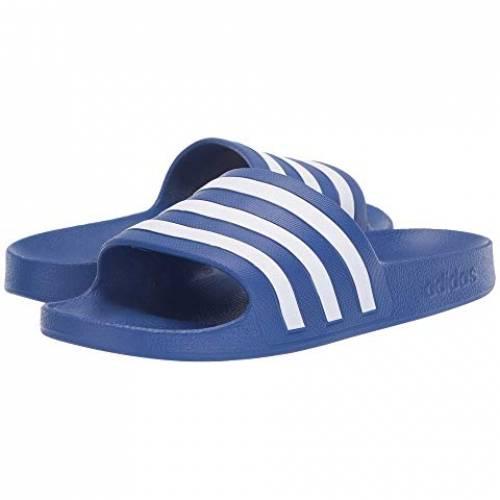 アディダス ADIDAS アディレッタ アクア スニーカー レディース 【 Adilette Aqua 】 Team Royal Blue/footwear White/team Royal Blue