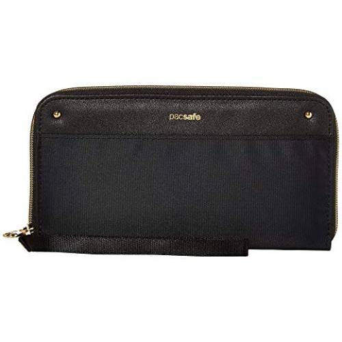 PACSAFE ウォレット 財布 バッグ ユニセックス 【 Rfidsafe Continental Wallet 】 Black