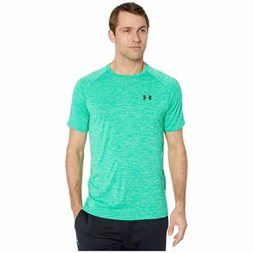 アンダーアーマー UNDER ARMOUR テック スリーブ Tシャツ メンズファッション トップス カットソー メンズ 【 Ua Tech Short Sleeve Tee 】 Vapor Green/black