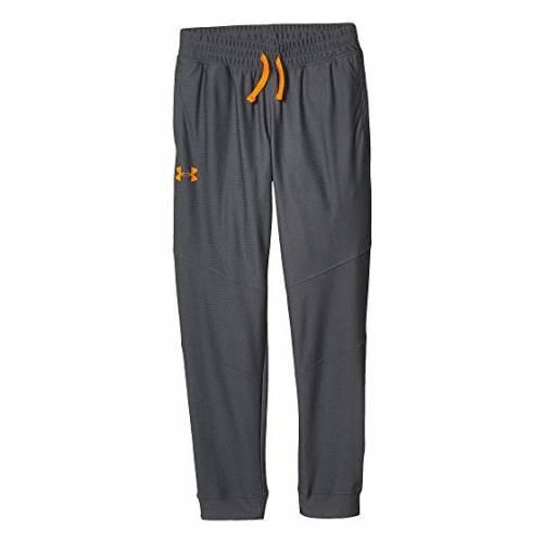 アンダーアーマー キッズ UNDER ARMOUR KIDS キッズ ベビー マタニティ ボトムス ジュニア 【 Pennant Tapered Pants (big Kids) 】 Mod Gray/orange Spark
