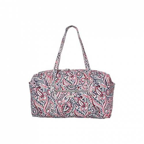 VERA BRADLEY ダッフル バッグ レディース 【 Iconic Large Travel Duffel 】 Gramercy Paisley