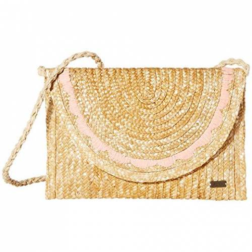 ROXY バッグ レディース 【 Salty But Sweet Small Straw Shoulder Bag 】 Natural