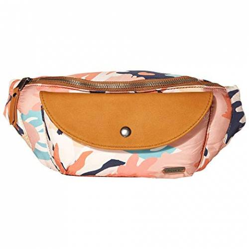 ROXY バッグ レディース 【 Stay Curious Fanny Pack 】 Peach Blush Bright Skies