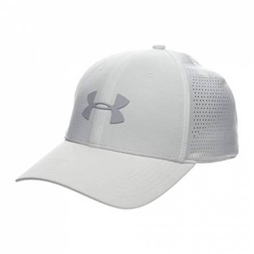 アンダーアーマー UNDER ARMOUR キャップ キャップ 帽子 白 ホワイト 灰色 グレー グレイ 3.0 【 WHITE GRAY UNDER ARMOUR DRIVER CAP MOD 】 バッグ  キャップ 帽子 メンズキャップ 帽子