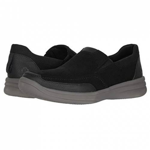 クラークス CLARKS スニーカー メンズ 【 Step Stroll Edge 】 Black Leather