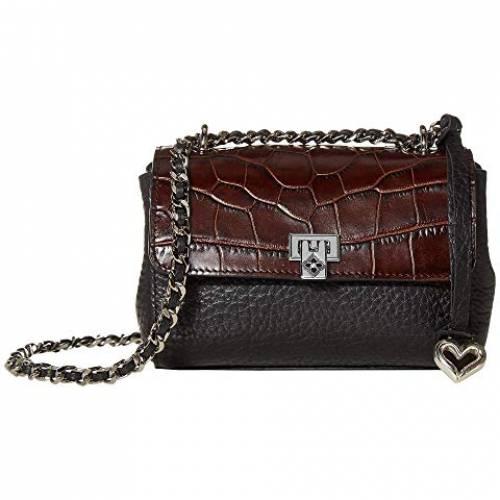 ブライトン BRIGHTON バッグ レディース 【 Roz Small Flap Bag 】 Black/chocolate
