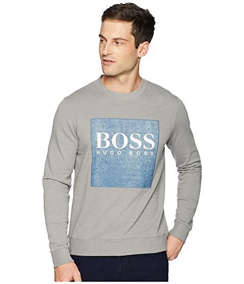 【海外限定】ロゴ メンズファッション トレーナー 【 BOSS LOGO SWEATSHIRT 】