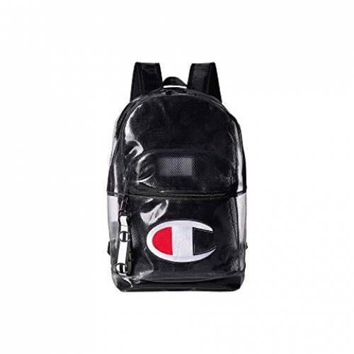 CHAMPION LIFE バックパック バッグ リュックサック ユニセックス 【 Supersize Clear Backpack 】 Black