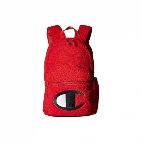 CHAMPION LIFE バックパック バッグ リュックサック ユニセックス 【 Mini Supercize Sherpa Backpack 】 Medium Red