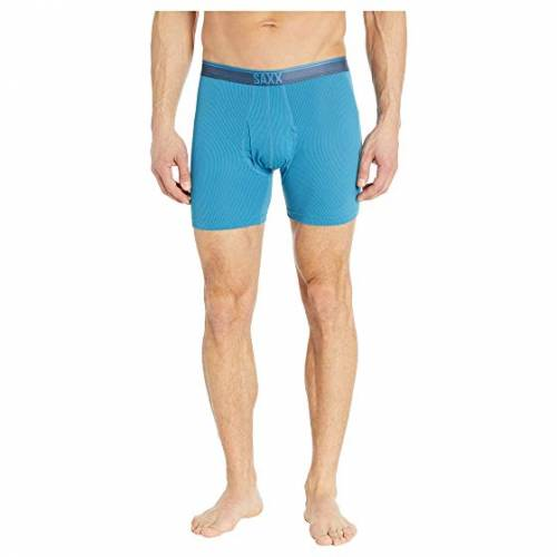 SAXX UNDERWEAR 2.0 インナー 下着 ナイトウエア メンズ 【 Quest 2.0 Boxer With Fly 】 Celestial Blue