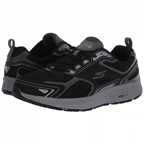 SKECHERS ラン スニーカー 【 GO RUN CONSISTENT BLACK GREY 】 メンズ