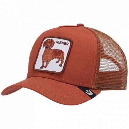 GOORIN BROTHERS トラッカー 【 GOORIN BROTHERS ANIMAL FARM SNAP BACK TRUCKER HAT RUST WEINER DAWG 】 バッグ  キャップ 帽子 メンズキャップ 帽子