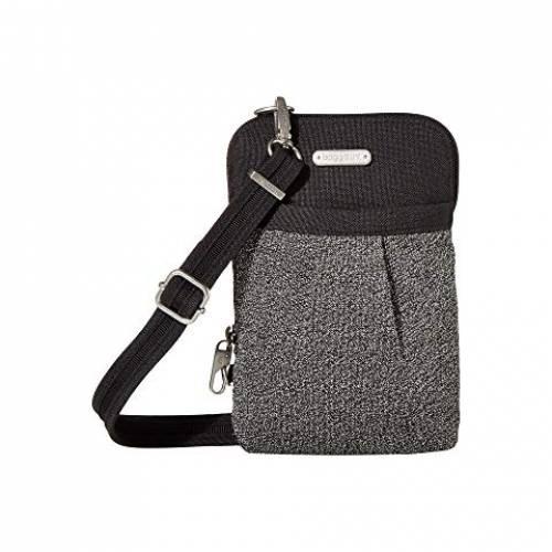 バッガリーニ BAGGALLINI バッグ ・・ レディース 【 Securtex ・・ Anti-theft Excursion Crossbody Bag 】 Black Antitheft