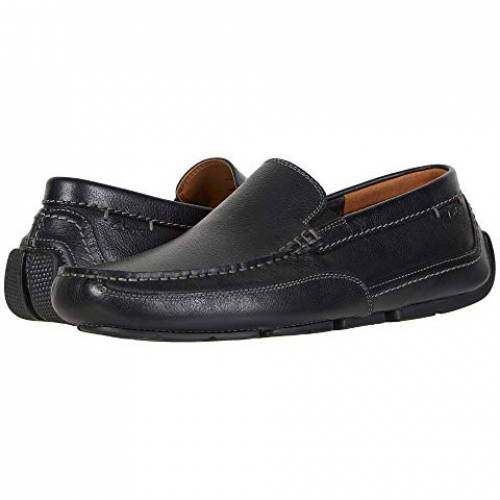 クラークス CLARKS スニーカー メンズ 【 Ashmont Step 】 Black Tumbled Leather