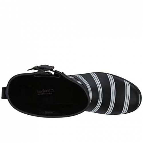 チューカ CHOOKA ミッド ブーツ 黒 ブラック スニーカーBLACK CHOOKA SMART STRIPES MID BOOTqcA34RL5j