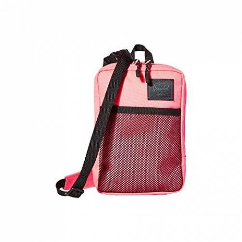 HERSCHEL SUPPLY CO. バッグ ユニセックス 【 Sinclair Large 】 Neon Pink/black