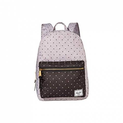 HERSCHEL SUPPLY CO. バッグ ユニセックス 【 Grove Small 】 Polka Dot Crosshatch Grey/black