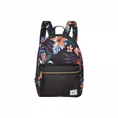 HERSCHEL SUPPLY CO. バッグ ユニセックス 【 Grove Small 】 Summer Floral Black