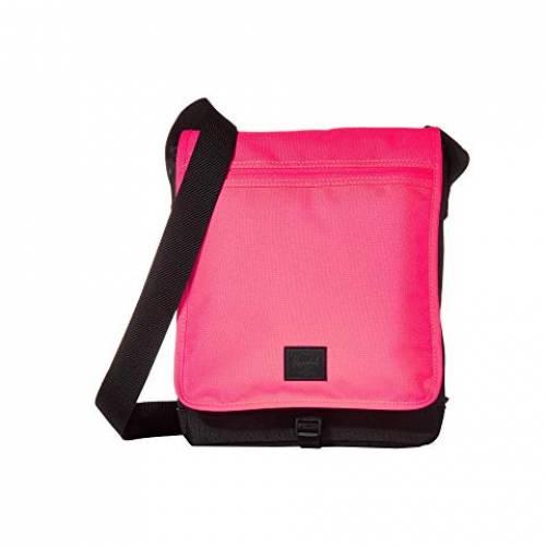 HERSCHEL SUPPLY CO. バッグ ユニセックス 【 Lane 】 Neon Pink/black