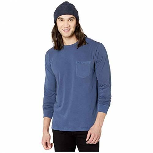 RVCA ルーカ スリーブ 青 ブルー 【 RVCA SLEEVE BLUE PTC PIGMENT LONG MOODY 】 メンズファッション トップス Tシャツ カットソー