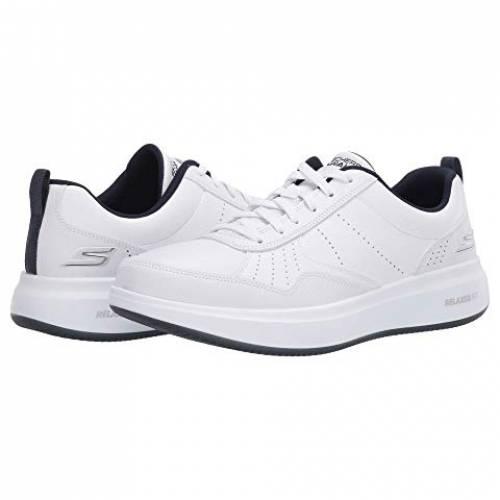 SKECHERS PERFORMANCE ウォーク スニーカー メンズ 【 Go Walk Steady 】 White/navy