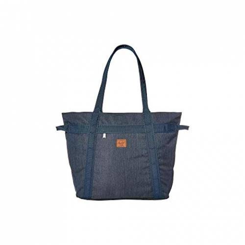 HERSCHEL SUPPLY CO. バッグ ユニセックス 【 Alexander Zip 】 Indigo Denim Crosshatch