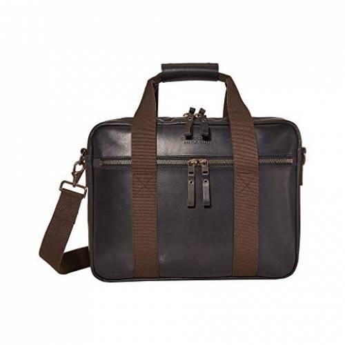 FILSON レザー バッグ ユニセックス 【 Dawson Leather Briefcase 】 Black