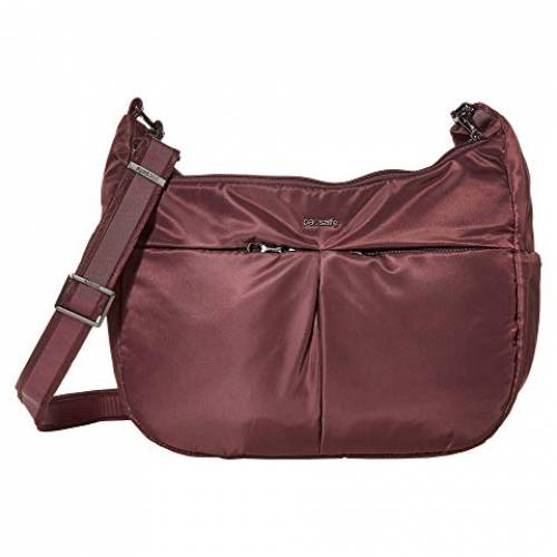 PACSAFE バッグ ユニセックス 【 Cruise Carry All Crossbody 】 Pinot
