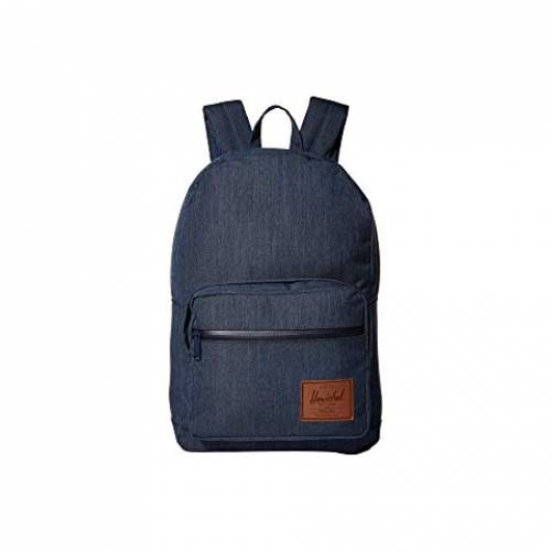 HERSCHEL SUPPLY CO. バッグ メンズバッグ ユニセックス 【 Pop Quiz 】 Indigo Denim Crosshatch