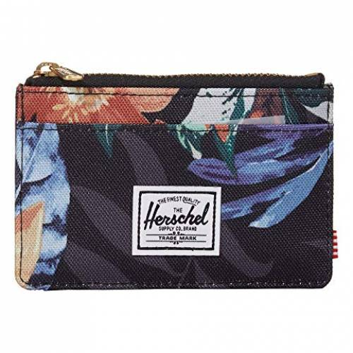 HERSCHEL SUPPLY CO. バッグ 財布 ケース ユニセックス 【 Oscar Rfid 】 Summer Floral Black