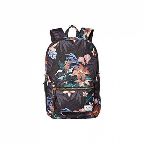 HERSCHEL SUPPLY CO. バッグ ユニセックス 【 Settlement Mid-volume 】 Summer Floral Black