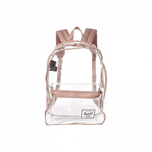 HERSCHEL SUPPLY CO. クラシック バッグ ユニセックス 【 Classic X-large 】 Ash Rose/clear