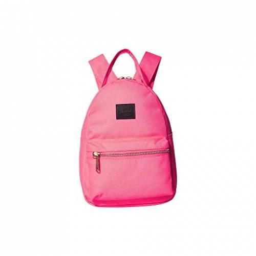 HERSCHEL SUPPLY CO. バッグ ユニセックス 【 Nova Mini 】 Neon Pink/black