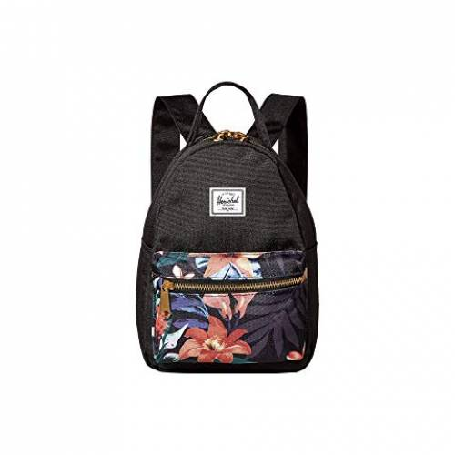 HERSCHEL SUPPLY CO. バッグ ユニセックス 【 Nova Mini 】 Summer Floral Black