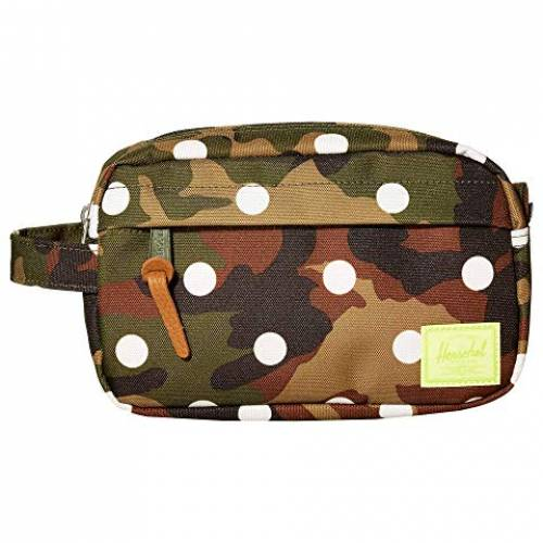HERSCHEL SUPPLY CO. 白 ホワイト 【 WHITE CHAPTER CARRY ON WOODLAND CAMO DOT 】 バッグ