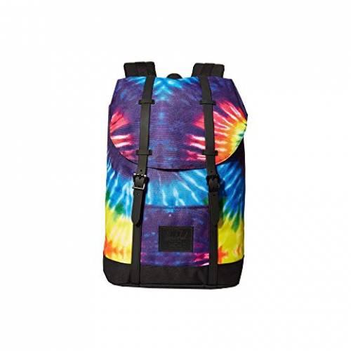 HERSCHEL SUPPLY CO. バッグ ユニセックス 【 Retreat 】 Rainbow Tie-dye