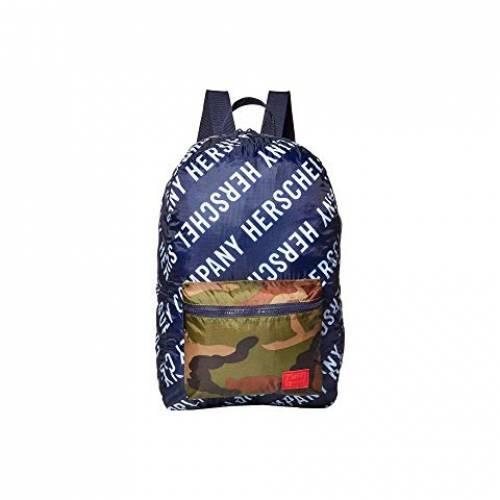 HERSCHEL SUPPLY CO. バッグ ユニセックス 【 Packable Daypack 】 Roll Call Peacoat/woodland Camo