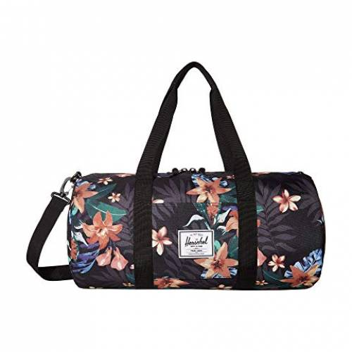HERSCHEL SUPPLY CO. バッグ ユニセックス 【 Sutton Mid-volume 】 Summer Floral Black