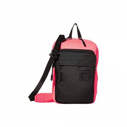 HERSCHEL SUPPLY CO. バッグ ユニセックス 【 Form Crossbody Large 】 Neon Pink/black