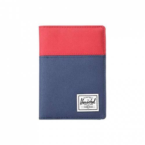 HERSCHEL SUPPLY CO. バッグ ユニセックス 【 Raynor Passport Holder Rfid 】 Red/navy/woodland Camo