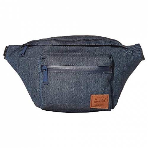 HERSCHEL SUPPLY CO. バッグ ユニセックス 【 Seventeen 】 Indigo Denim Crosshatch