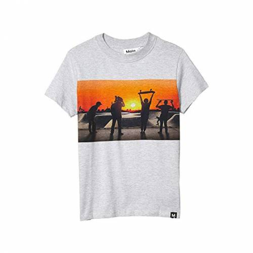 MOLO Tシャツ キッズ ベビー マタニティ トップス ジュニア 【 Road T-shirt (little Kids/big Kids) 】 Red Sky Skate