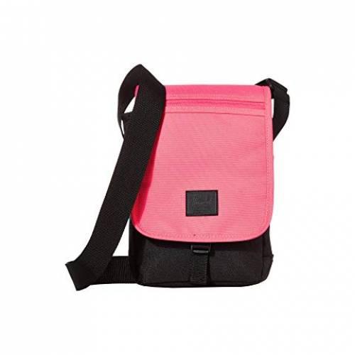 HERSCHEL SUPPLY CO. バッグ ユニセックス 【 Lane Small 】 Neon Pink/black