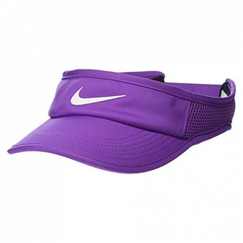 ナイキ NIKE バッグ キャップ 帽子 レディースキャップ レディース 【 Aerobill Featherlight Adjustable Visor 】 Purple Nebula/white