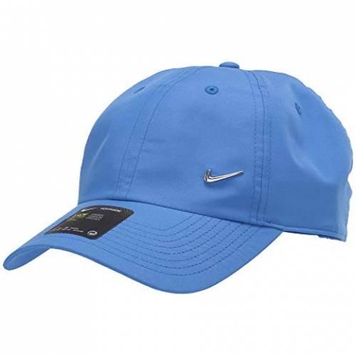 ナイキ NIKE メタル スウッシュ スウォッシュ キャップ 帽子 バッグ メンズキャップ ユニセックス 【 H86 Metal Swoosh Cap 】 Pacific Blue