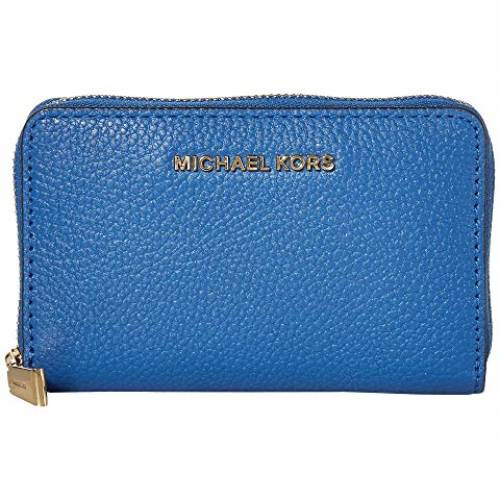 MICHAEL MICHAEL KORS アラウンド ケース バッグ レディース 【 Jet Set Small Zip Around Card Case 】 Vintage Blue